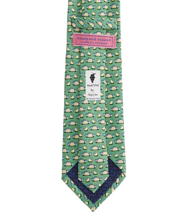 Extra Long Fish Taco Tie