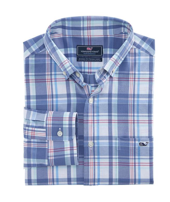 188bfd920b1b Shop Otter Rock Plaid Classic Performance Cotton Tucker Shirt at ...