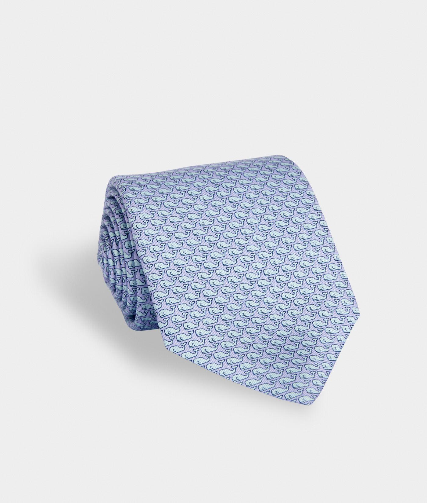 Vineyard Vines Boys Sailboat Silk Tie Blue