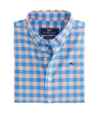 Boys Pelican Bay Plaid Beach Tartan Whale Shirt