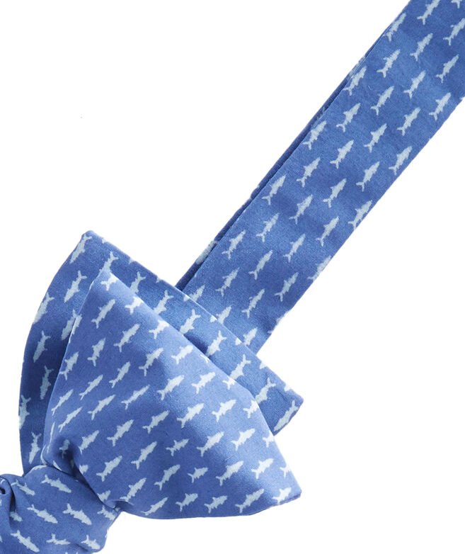 Shop micro fish woven bow tie at vineyard vines for Fish bow tie