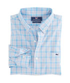 Carmel River Check Slim Tucker Shirt