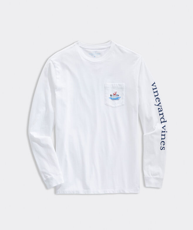Deck The Hulls Long-Sleeve Pocket Tee