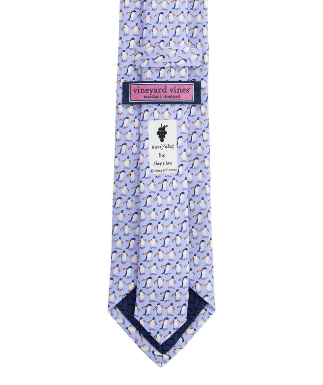 Marching Penguins Printed Tie