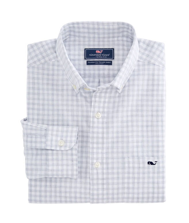 Garden Quarter Gingham Classic Tucker Shirt