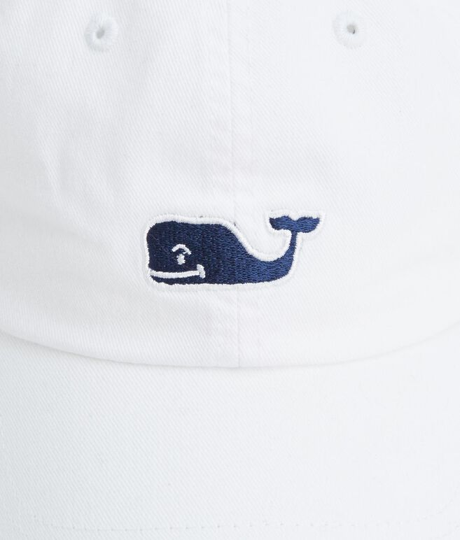 Twill Embroidered Whale Hat