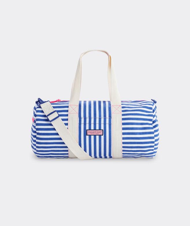Girls' Stripe Duffle Bag