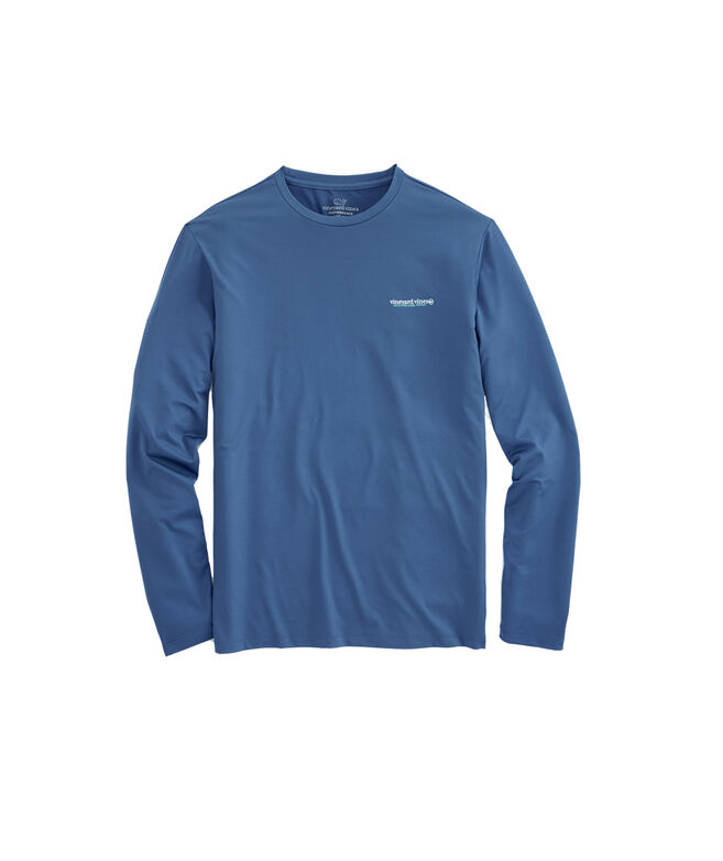 Long-Sleeve Performance Catch Release Wahoo T-Shirt