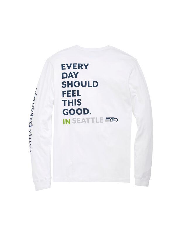 Seattle Seahawks Long-Sleeve EDSFTG T-Shirt