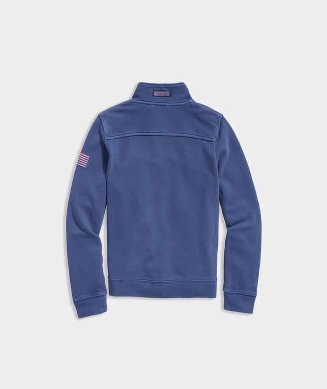 Boys' Americana Garment-Washed Shep Shirt