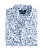 Short-Sleeve Fish Dash Slim Tucker Shirt