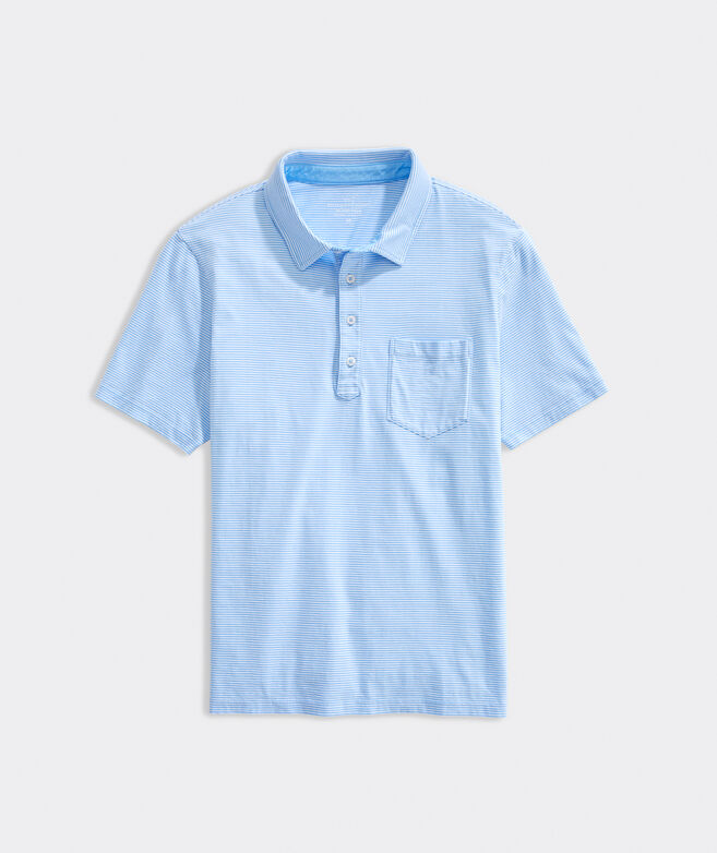Yarn-Dyed Island Stripe Polo
