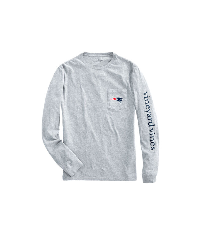 New England Patriots Long-Sleeve EDSFTG T-Shirt
