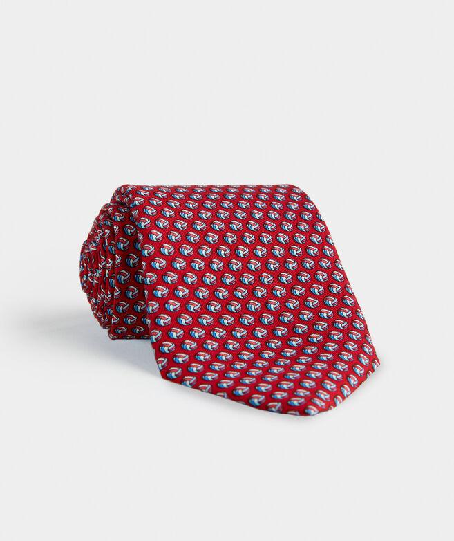 Volleyballs Printed Tie