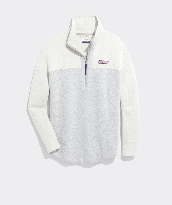 Diamond Quilted Shep Shirt