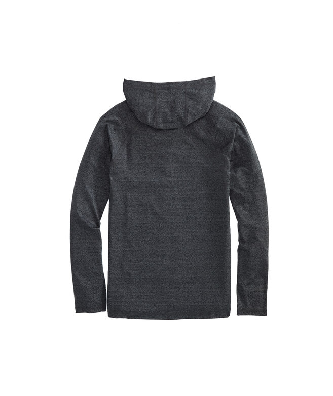 Long-Sleeve Performance Space-Dyed Fishing Hoodie