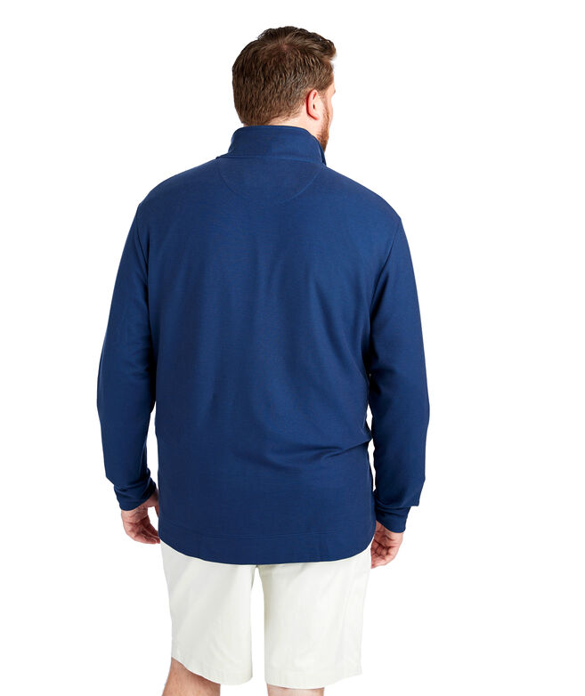 Big & Tall Saltwater 1/4-Zip