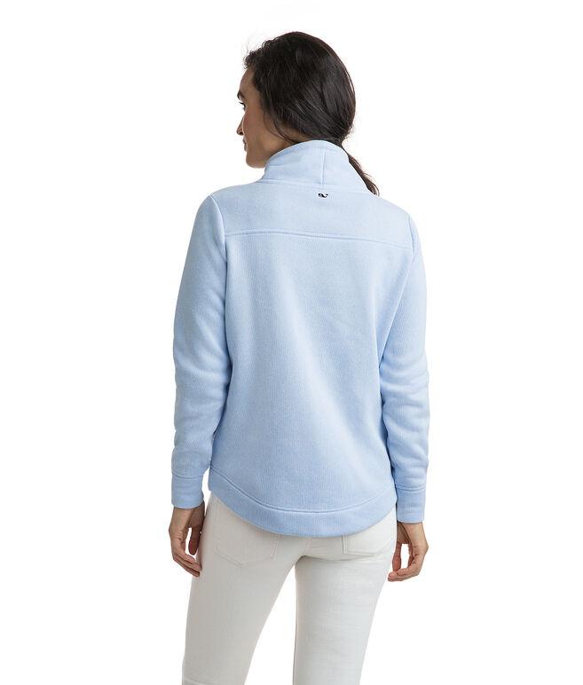 Sweater Fleece Funnel Neck Shep Shirt