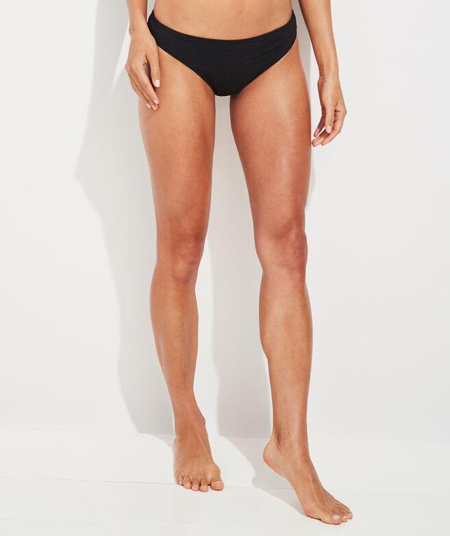 Vineyard Seersucker Classic Bikini Bottom