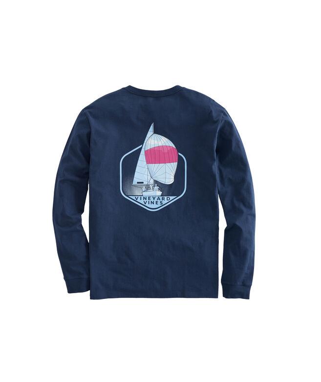 Long-Sleeve Downwind Pocket T-Shirt