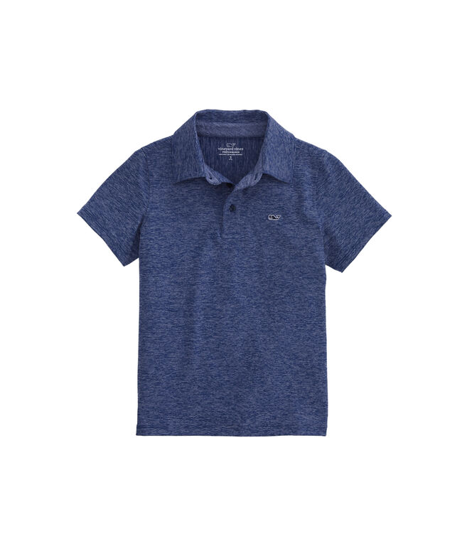 Boys Destin Stripe Sankaty Performance Polo