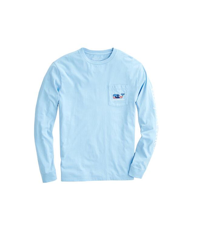 Adult Long-Sleeve Veterans Day Pocket T-Shirt