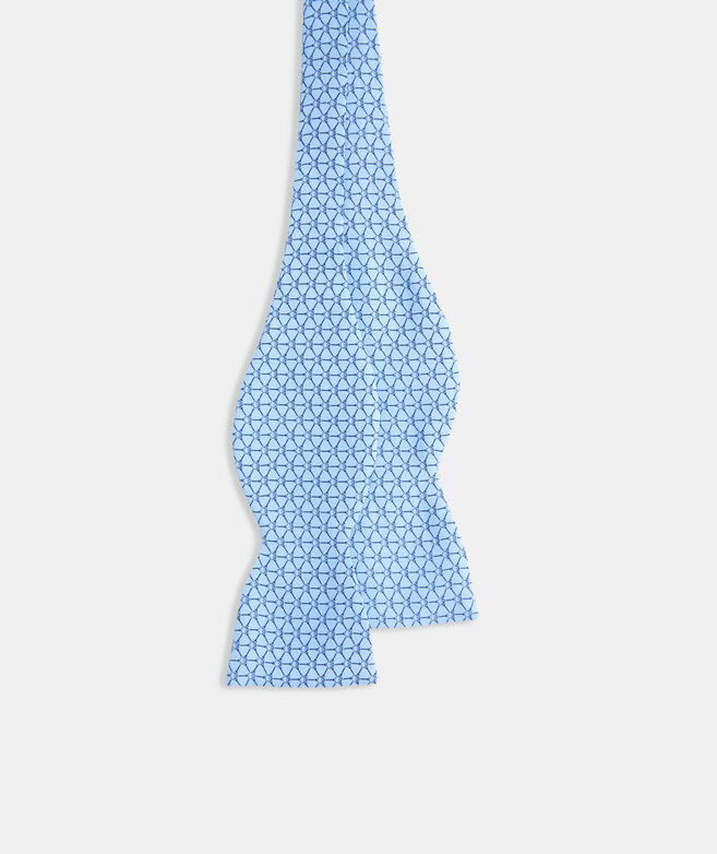 Golf Balls & Tees Geo Printed Bow Tie