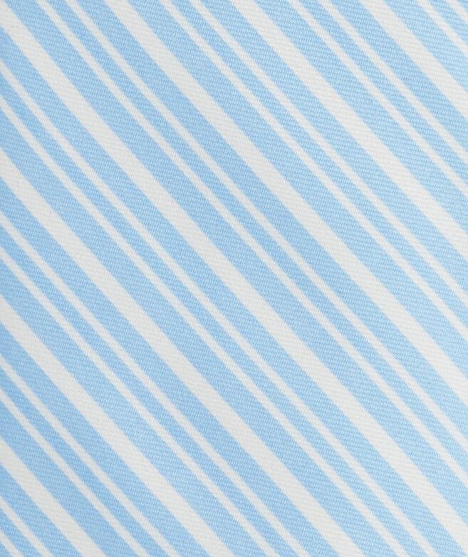 Varsity Stripe Printed Tie