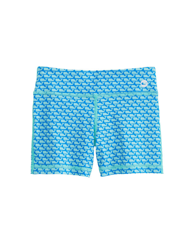 Girls All Over Whale Performance Tumble Shorts