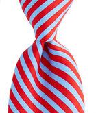 2 Color Stripe Tie