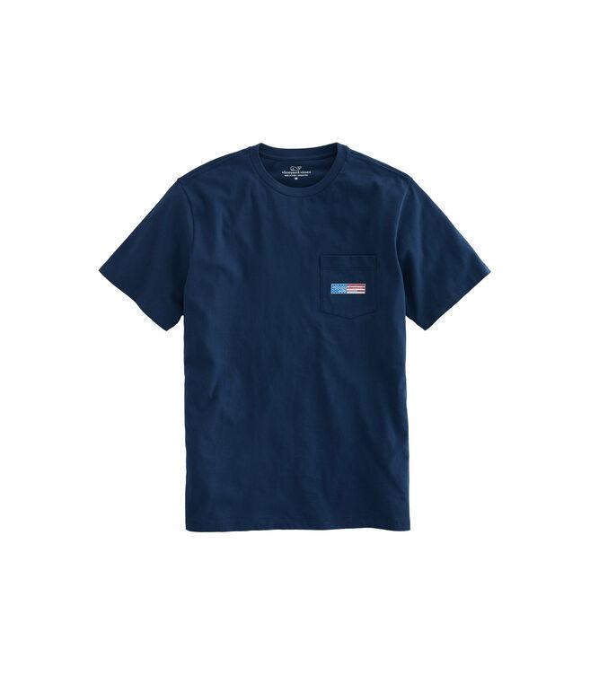 Big & Tall Patriot Logo Box T-Shirt