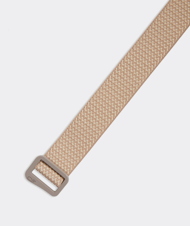 Patterned Stretch On-The-Go D-Ring Belt