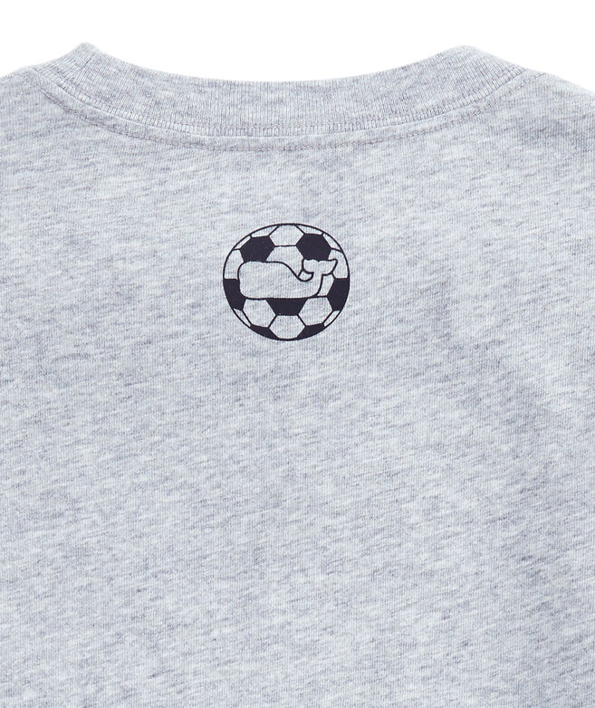 Boys Soccer Ball Whale Fill T-Shirt