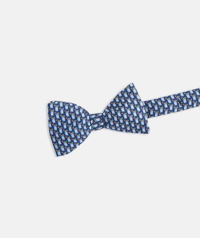 Kentucky Derby Mint Juleps Printed Bow Tie