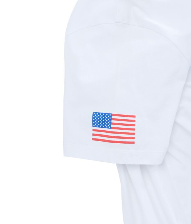 USA All Day Pocket T-Shirt