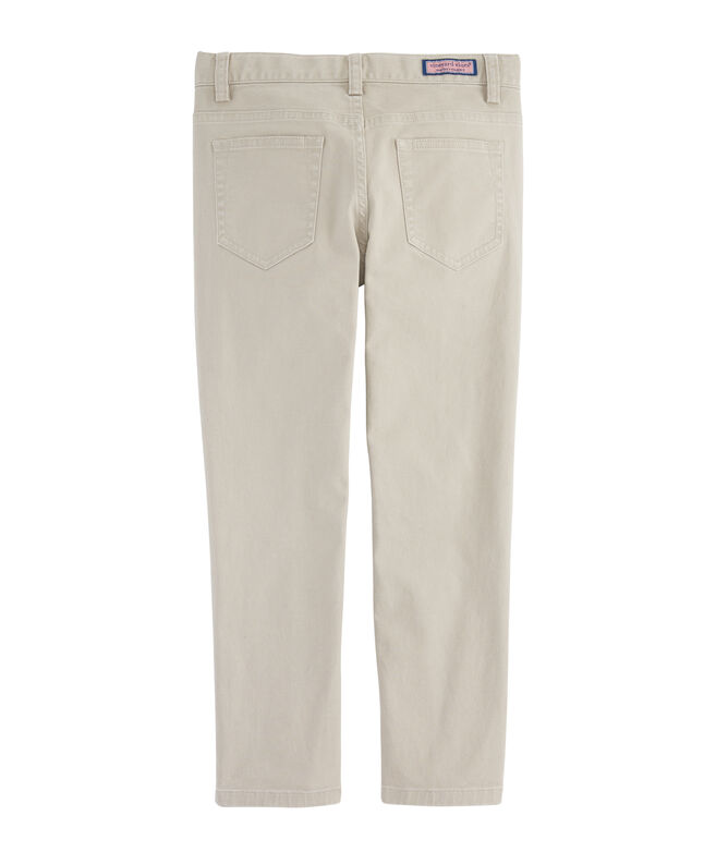 Boys Canvas 5-Pocket Pants