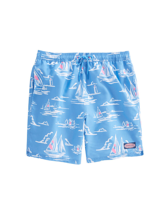 Sailing Scene Chappy Trunks