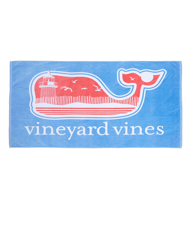 Vineyard Beach Beach Towel