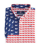 Boys Short-Sleeve USA Whale Whale Shirt