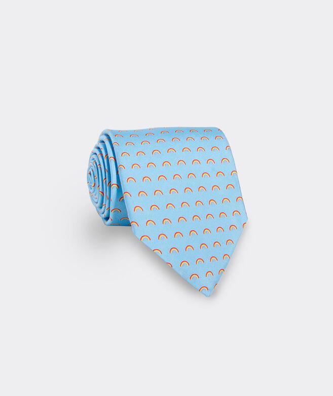 Limited-Edition Pride Rainbows Printed Tie