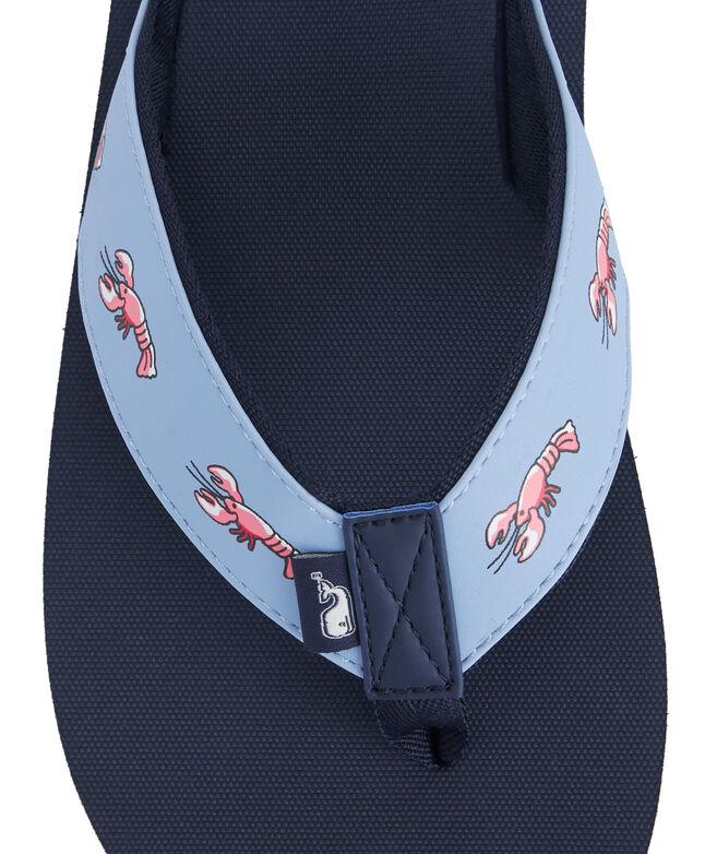 Lobster Icon Classic Flip Flops