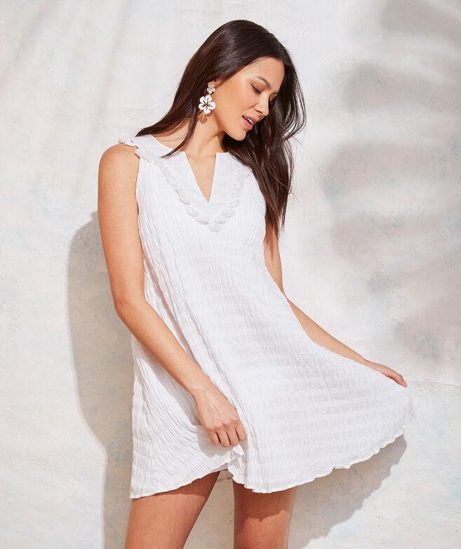 Textured Tassel Dress