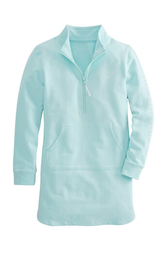 01e5ff3dd32d Girls Vintage Whale Zip Cover-Up