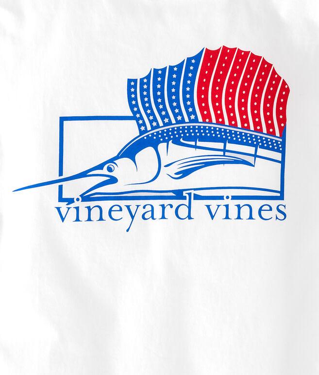 Long-Sleeve American Sailfish T-Shirt