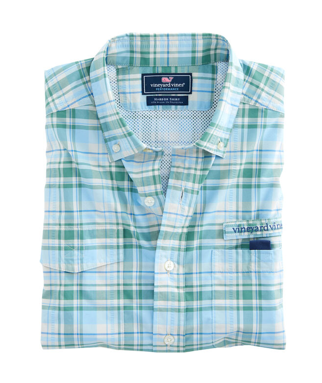 Kiawah Island Plaid Harbor Shirt