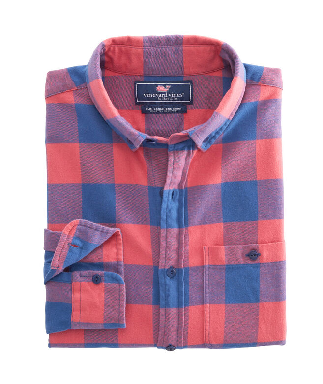 Big & Tall Kelby Classic Fit Flannel Longshore Shirt