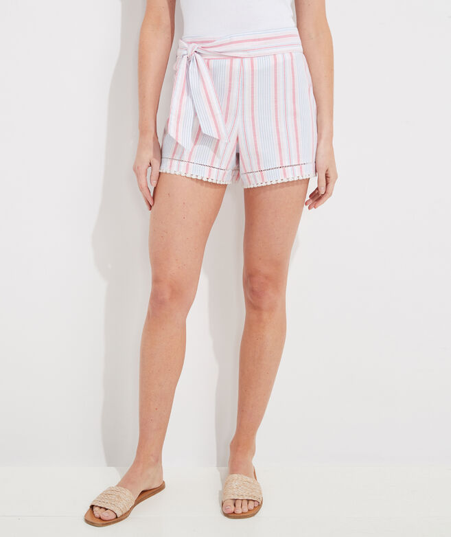 Abacos Stripe Bow Shorts