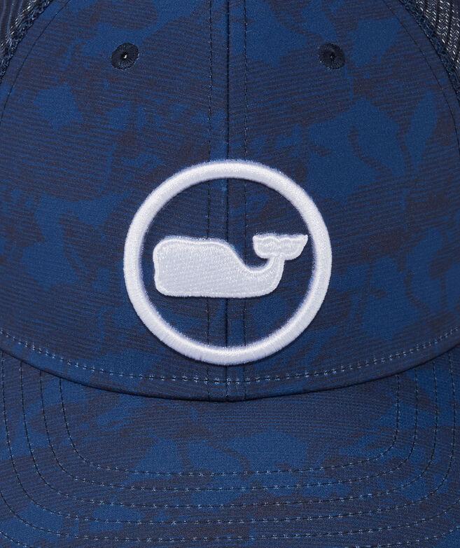 Kentucky Derby Geo Horses Whale Dot Performance Trucker Hat