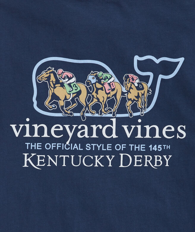 Kentucky Derby Logo Whale Pocket T-Shirt