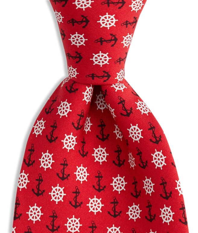 Anchor & Wheel Tie